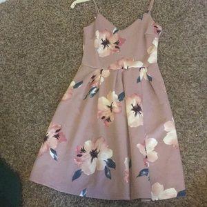 XS Soprano Flowery Pink dress